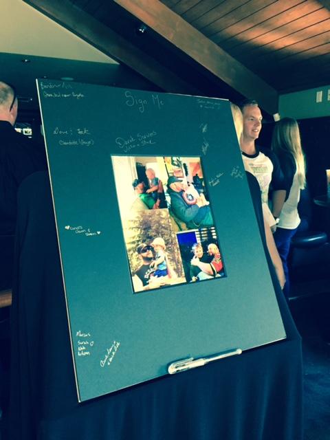 Picture in Blackboard Frame