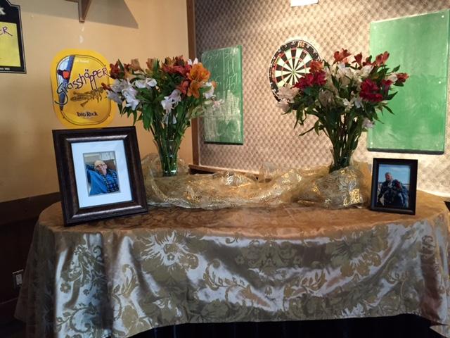 Memorial Table at a Pub