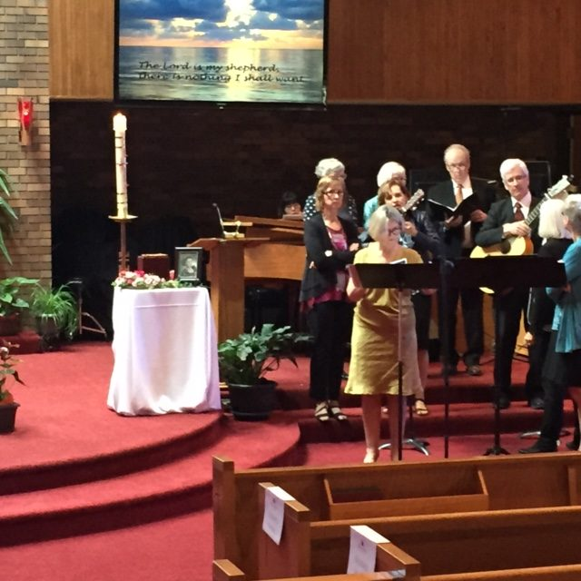Service with Choir